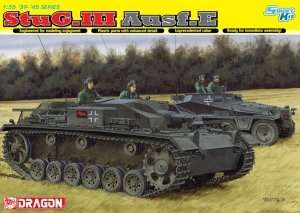 StuG.III Ausf.E model Dragon 6688 in 1-35