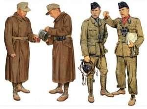 Figures DAK Panzer&Artillery Crew Dra6693
