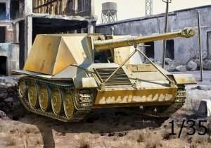 Ardelt-Rheinmetall 8,8cm Pak 43 Waffentrager in scale 1-35 Dragon 6728