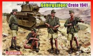 Gebirgsjager Crete 1941 model Dragon 6742 in 1-35
