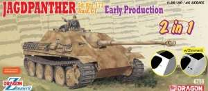 Jagdpanther Early Production 2in1 in scale 1-35