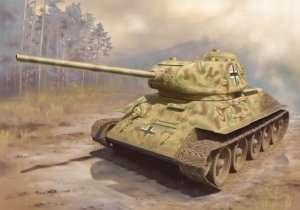 Panzerkampfwagen T-34/85 in scale 1-35