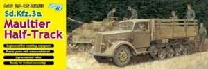 Sd.Kfz.3a Maultier Half-Track in scale 1-35