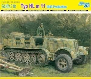 Sd.Kfz.7 8t Typ HL m 11 1943 Production in scale 1-35 Dragon 6794