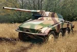 Sd.Kfz.234 mit 7.5cm L/48 in scale 1-35