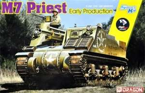 US M7 Priest Early Production model Dragon in 1-35