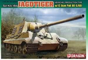 Jagdtiger w/12.8cm PaK 80 (L/66) in scale 1-35