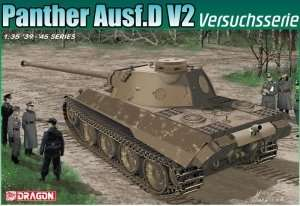 Panther Ausf.D V2 Versuchsserie in scale 1-35 Dragon 6830