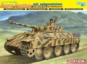 BergePanther mit Pz.Kpfw.IV turm model Dragon 6835 in 1-35