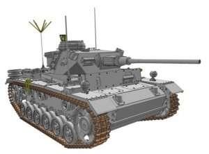 Pz.Bef.Wg.III Ausf.K in scale 1-35