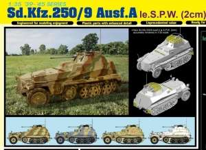 Sd.Kfz.250/9 Ausf.A le.S.P.W. in scale 1-35