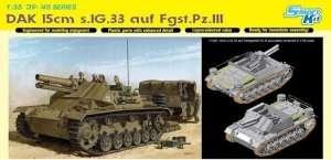 DAK 15cm s.IG.33 auf Fgst.Pz.III in scale 1-35