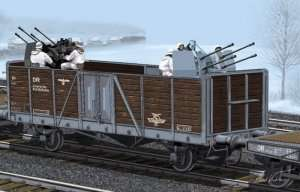 German Railway Gondola Typ Ommr in scale 1-35