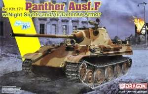 Panther Ausf.F w/Night Sight and Air Defense Armor in 1-35