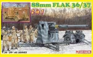 88mm Flak 36/37 2in1 model Dragon 6923 in 1-35