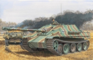 Jagdpanther Ausf.G1 Late/Ausf.G2 2in1 model Dragon 6924 in 1-35