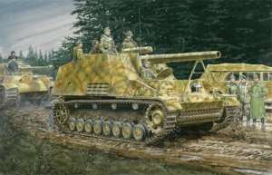 Sd.Kfz.165 Hummel Early/Late Prod. 2in1 model Dragon in 1-35