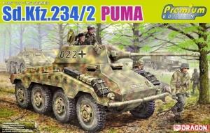 Sd.Kfz.234/2 Puma Premium Edition model Dragon in 1-35