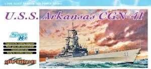 USS Arkansas CGN-41 model Dragon 7124 in 1-700