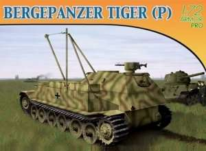 Dragon 7227 BERGEPANZER TIGER (P)