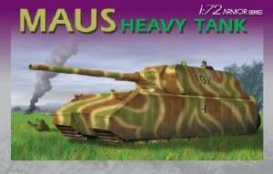 Model heavy tank Maus 1-72 Dragon 7255