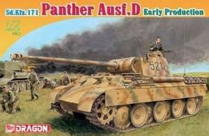 Sd.Kfz.171 Panther Ausf.D Early Production in scale 1-72