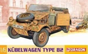 Kubelwagen Type 82 model Dragon in scale 1-6