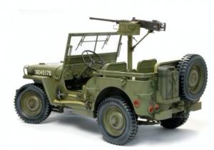 1/4-ton 4x4 Truck w/M2 .50cal Machine Gun model Dragon in 1-6