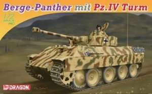 Berge-Panther mit Pz.Kpfw.IV Turm in scale 1-72