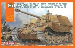 Sd.Kfz.184 Elefant in scale 1-72