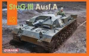 StuG III Ausf.A in scale 1-72 - Dragon 7557