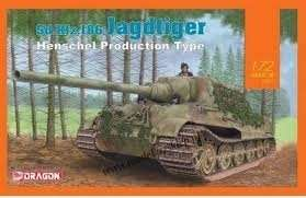 Jagdtiger Henschel Type - model in scale 1-72