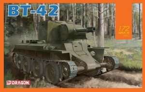 BT-42 - model Dragon in scale 1-72