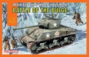 M4A3(76)W VVSS Sherman in scale 1-72