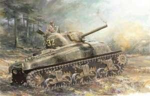 M4A1 Sherman model Dragon in scale 1-72