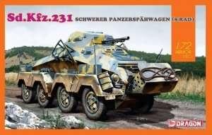 Sd.Kfz.231 Schwerer Panzerspahwagen in scale 1-72