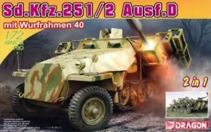 Sd.Kfz.251 Ausf.D mit Wurfrahmen 40 model Dragon 7604