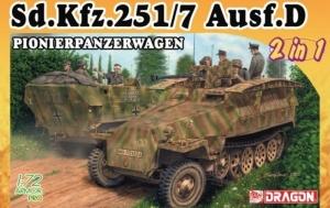 Sd.Kfz.251/7 Ausf.D Pionierpanzerwagen model Dragon 7605