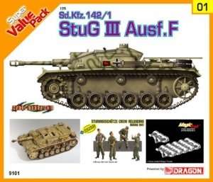 Sd.Kfz.142/1 StuG.III Ausf.F in scale 1-35