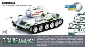 T-34/85 Mod.1944 - ready model 1-72 Dragon Armor 60256