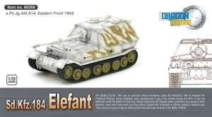 Elefant 3/s.Pz.Jg.Abt.614 - ready model