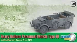 Heavy Uniform Personnel Vehicle Type 40 - ready model