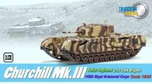 Churchill Mk.III Tunis 1943 - ready model in scale 1-72
