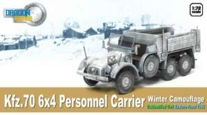 Kfz.70 6x4 Personnel Carrier Winter - ready model 1-72