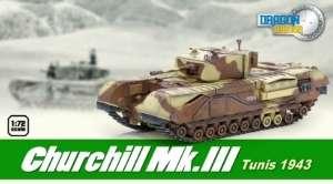 Churchill Mk.III Tunisia 1943 - ready model 1-72