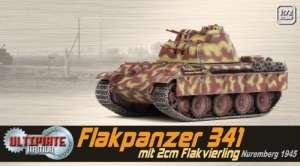 Flakpanzer 341 mit 2cm Flakvierling - ready model 1-72