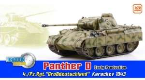 Panther D Early Production in scale 1-72 ready model Dragon 60596