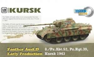 Panther Ausf.D Early Production Kursk ready model Dragon in 1-72