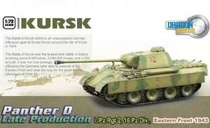 Panther Ausf.D Late Production Kursk ready model Dragon in 1-72