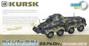 Sd.Kfz.231 23.Pz.Div. Eastern Front 1943 ready model Dragon in 1-72